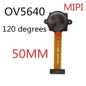 Image 3 - OV5640 MIPI 120 תואר מצלמה מודול 5 מיליון פיקסלים 24PIN 120 מעלות 5cm 160 מעלות 6cm רחב זווית MIPI DVP ממשק