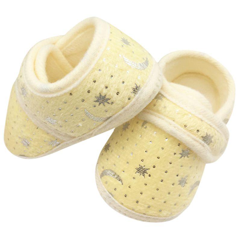 Infant Bay Boys Girls Shoes Cotton Crib Shoes Star Print Prewalker