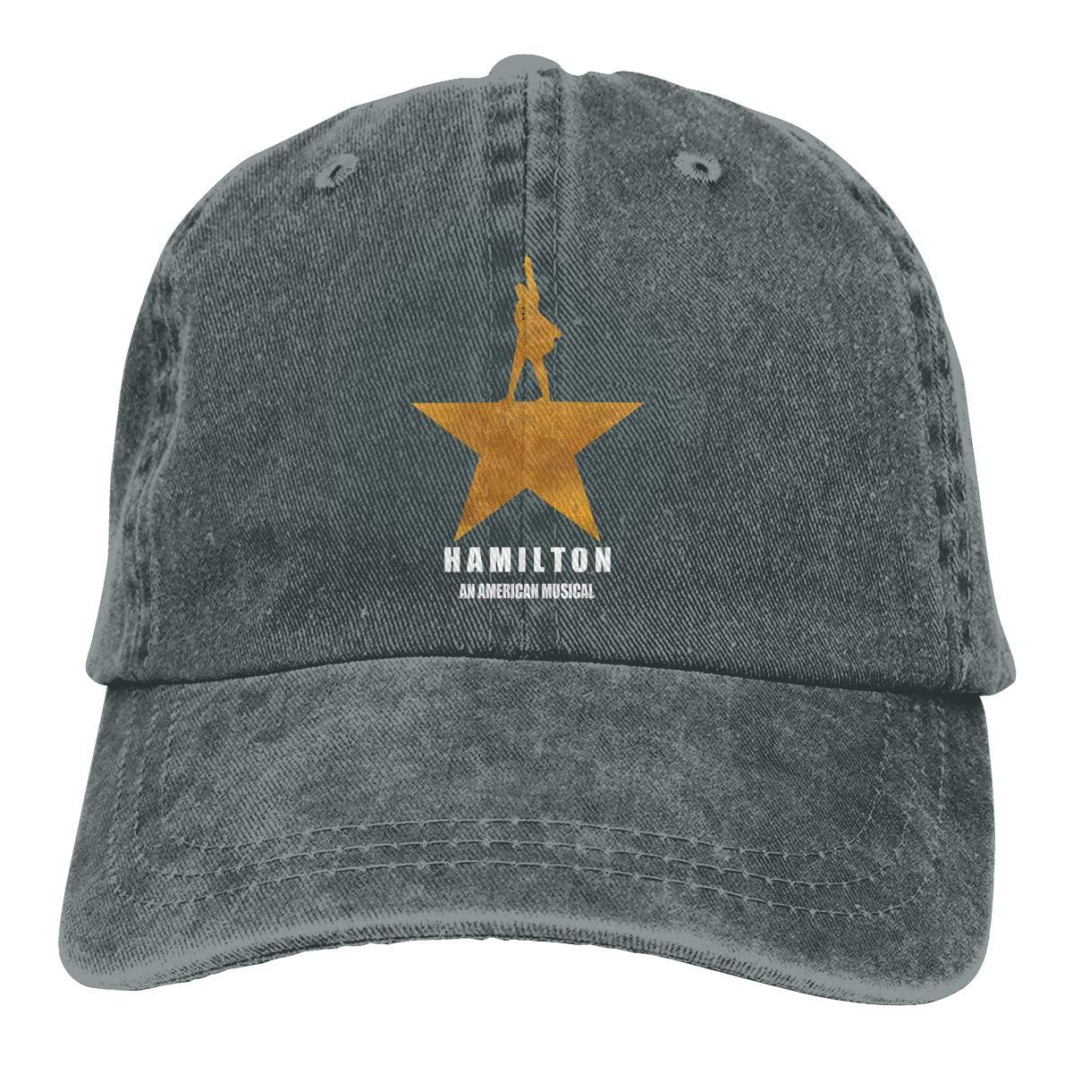 Hamilton An American Musical Adjustable Baseball Caps Denim Hats