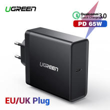 Ugreen PD 65 Вт Зарядное устройство USB type C зарядное устройство для Apple MacBook воздушный iPad Pro samsung ASUS acer планшет зарядное устройство для nintendo Switch