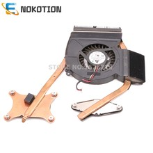 NOKOTION Radiator For Samsung R540 NP-R540 PC Heatsink fan cooling fan full test(China)