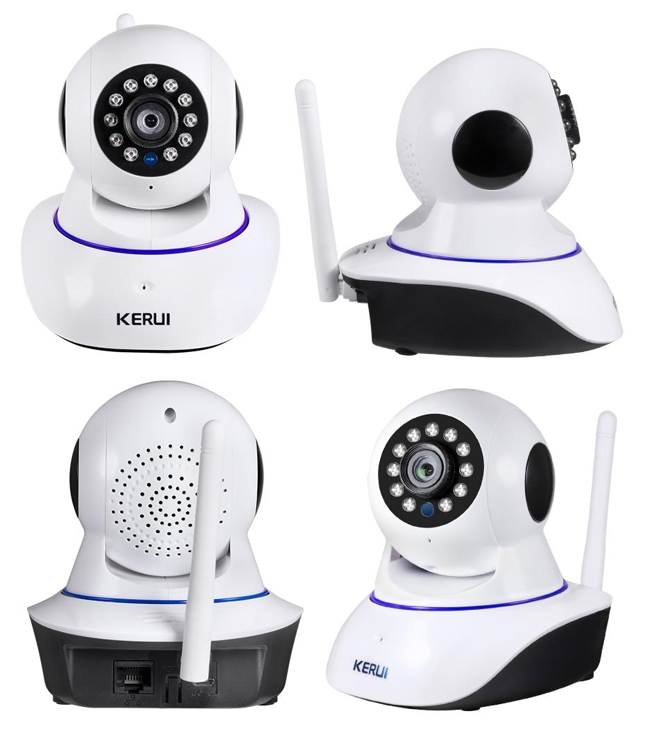 H9df1290fbfaa45c68b28d620db54639d3 KERUI 720P 1080P HD Wifi Wireless Home Security IP Camera Security Network CCTV Surveillance Camera IR Night Vision Baby Monitor