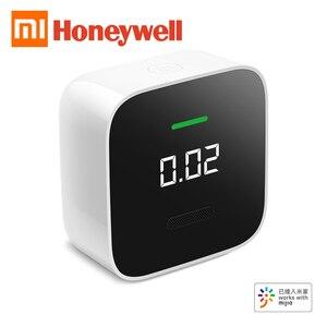 Xiaomi Mijia Honeywell inteligentny Monitor formaldehydu HCHO OLED Bluetooth PPB detektor elektrochemiczny działa z aplikacją Mi home