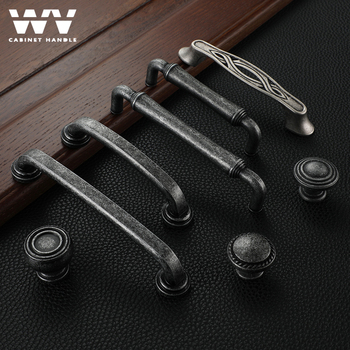 WV Retro Kitchen Door Handles Cabinet Door Vintage Handle Knobs Furniture Hardware Cupboard Antique Handles Cupboard Pulls 675 цена 2017