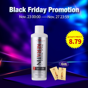 11.11 120ml Without Formalin Keratin Coconut Smelling  Repair & Straighten Damaged Hair Care Treatment