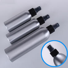 30/50/100ML Aluminum Spray Bottle Refillable Perfume Portable Empty Container Travel Cosmetic Sprayer Atomizer Silver