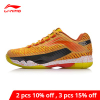 Li Ning Women PIONEER Professional Badminton Shoes CUSHION LiNing li ning BOUNSE Sport Shoes Wearable Sneakers AYAN016 XYY119