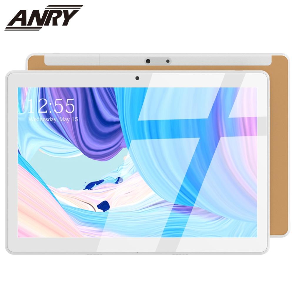 ANRY NEW 2020 MTK6580 1GB/16GB 10.1' Tablets Android 7.0 Quad Core Dual Camera 2MP Dual SIM GPS Bluetooth 3G Phone Tablet PC