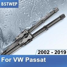 BSTWEP щетки стеклоочистителя для Volkswagen VW Passat B5 B6 B7 B8 подходят для бокового штифта/кнопочного рычага модели с 2002 по год