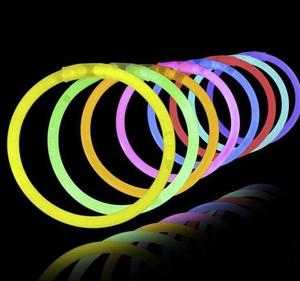 Multi Color Glow Stick Light Bracelets for Party Hot Dance Christmas Decoration Accessory Kids Gifts Toys Free Shipping(China)