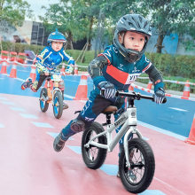 infant shining Mini Speed Bike Racing Bicycle Professional Baby Balance Bike Walk on Toy Racing Bike(China)