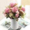 Шелковый Искусственный Пион, дома, свадебное украшение, принт в виде одуванчиков, в виде цветочного шара для рукоделия венок Искусственные ...
