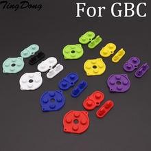 Tingdong 3 комплекта Цвет s резиновый проводящий Кнопка a b
