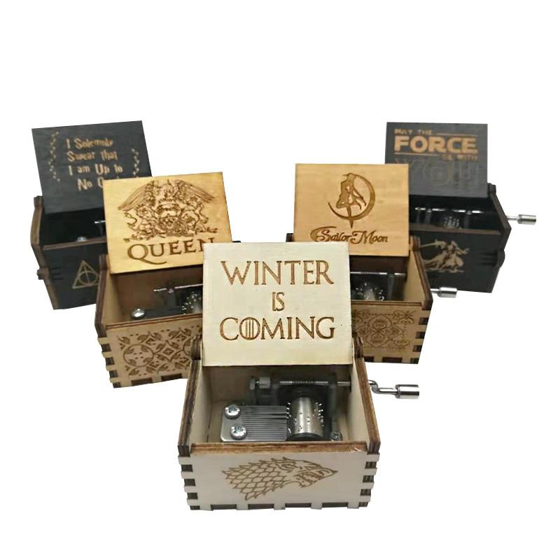 Wholesale handlebar castle in the sky music box power game Zelda theme Christmas gift