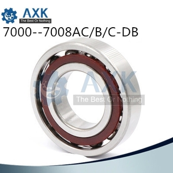db 7000 7001 7002 7003 7004 7005 7006 7007 7008 Precision Angle contact ball bearing ABEC-5 P5 Machine tool bearingAC-DB B-DB C-DB