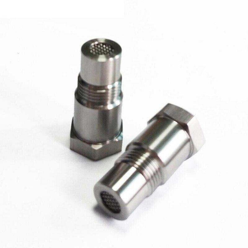 รถออกซิเจน O2 SENSOR อะแดปเตอร์ CEL Fix ตรวจสอบไฟเครื่องยนต์ Eliminator M18 * 1.5 Extender ADAPTER FITTING Eliminator ทดสอบท่อ