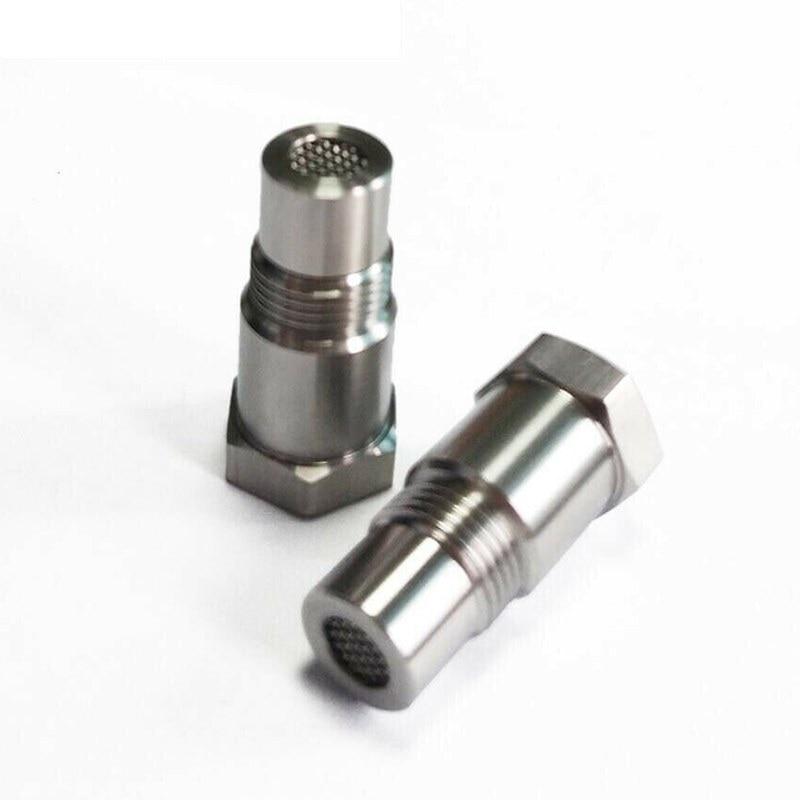 Araba oksijen O2 sensörü adaptörü CEL düzeltme kontrol motor işığı Eliminator M18 * 1.5 genişletici adaptör bağlantısı Eliminator Test borusu