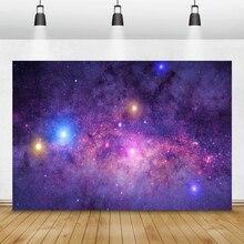 Laeacco Вселенная Млечный Путь Космос блестки планеты фотографии фоны день рождения фоны для маленького астронавта фотозона реквизит