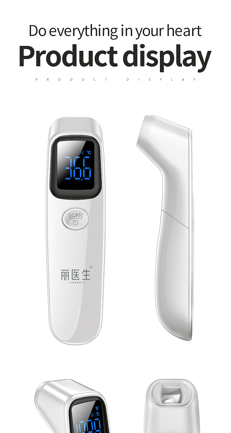 LIERDOCT Non Contact Infrared Thermometer in Ergonomic Design for Temperature Measurement of Naughty Kid 21