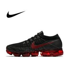 Ufficiale originale Nike Air VaporMax Essere Vero Flyknit Respirabile degli uomini di Runningg Scarpe Sport All'aria Aperta Sneakers Low Top Atletica