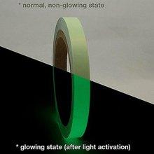 Светящийся лента 1 см самоклеющаяся лента ночное зрение светящееся Предупреждение безопасность лента дом украшение 1M% 2F3M% 2F10M
