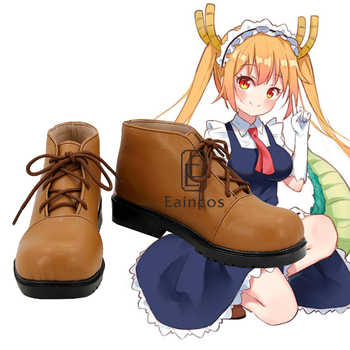 Anime Kobayashi san Chi no Maid Dragon Miss Kobayashi's Dragon Tohru Cosplay Party Shoes Custom Size - DISCOUNT ITEM  10% OFF All Category