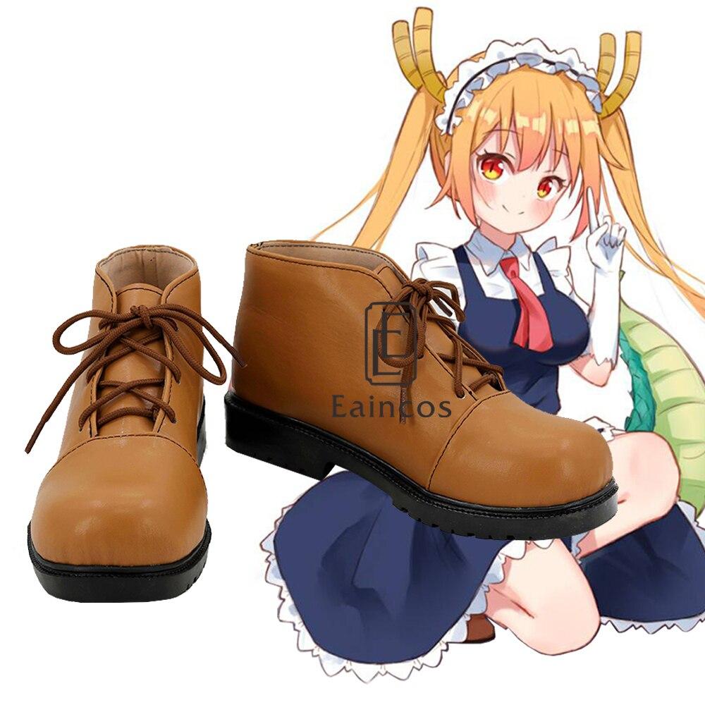 Anime Kobayashi san Chi pas de femme de chambre Dragon Miss Kobayashi's Dragon Tohru Cosplay chaussures de fête taille personnalisée