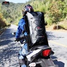 цены WOSAWE 30L Motorcycle Bag Waterproof Motorbike Backpack Helmet Bag Luggage Moto Tank Bag Shoulder Bag Hiking Racing Bag