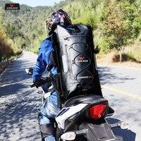 WOSAWE 30L Motorcycle Bag Waterproof Motorbike Backpack Helmet Bag Luggage Moto Tank Bag Shoulder Bag Hiking Racing Bag