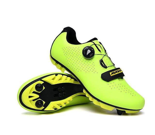 Mavic mtb ciclismo sapatos homem esporte ao ar livre sapatos de bicicleta auto-bloqueio profissional de corrida de estrada sapatos 4