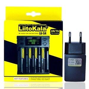 Image 4 - LiitoKala Lii 500S شاحن بطارية 18650 شاحن ل 18650 26650 21700 AA بطاريات AAA اختبار قدرة البطارية التحكم باللمس