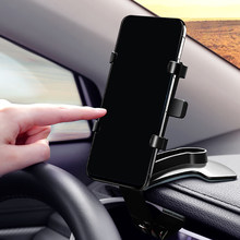 Car Phone Holder Rear Mirror Mount Mobile Bracket Universal 360 Degree Cell Mobile Smart Phone Support Stand Holder GPS(China)