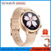 Original Ticwatch C2 Smartwatch Wear OS par Google intégré GPS moniteur de fréquence cardiaque Fitness Tracker Google payer cadeau gratuit-sangle