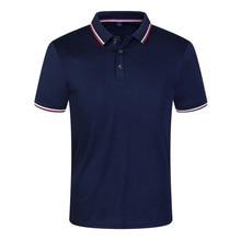 Новинка, одноцветные летние мужские рубашки поло, с коротким рукавом, дышащие, не скатываются, брендовые поло, para hombre размера плюс S-3XL