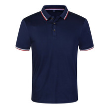 New 2019 Solid Color Summer Polo Shirts Men Short Sleeve Breathable Anti-Pilling Brand Polos para hombre Plus Size S-3XL