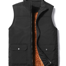 2020 New Middle-Aged and Elderly Warm Thick Vest Jacket Autumn Winter Casual Down Coat Plus-Velvet Large Size