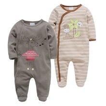 Детские комбинезоны для новорожденных боди carters одежда мальчиков