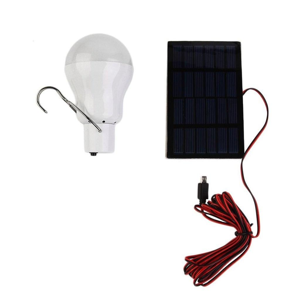15W 150LM Tragbare LED Solar Lampe Aufgeladen Solar Energie Licht Panel Powered Notfall Lampe Für Garten Im Freien Camping Zelt fishin