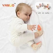 Nowe dziecięce bawełniane Unisex skarpety niemowlęce skarpetki dziecięce krótkie oddychające luźne skarpetki dziecięce skarpetki dziecięce tanie tanio W wieku 0-6m 7-12m 13-24m CN (pochodzenie) COTTON Pure Cotton More than 95 Nowość HH1445 Zwierząt baby