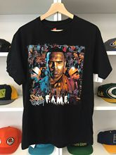 2011 Chris Brown Fame Tour Shirt M Vtg Rnb T-Shirt Short Sleeve Top