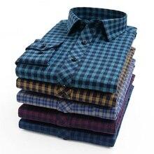 Plus Size Big 6XL 7XL 8XL 9XL 10XL 2020 Oversized Men Clothing Large Size Flannel Plaid Shirt Cotton Long Sleeve Shirt Male
