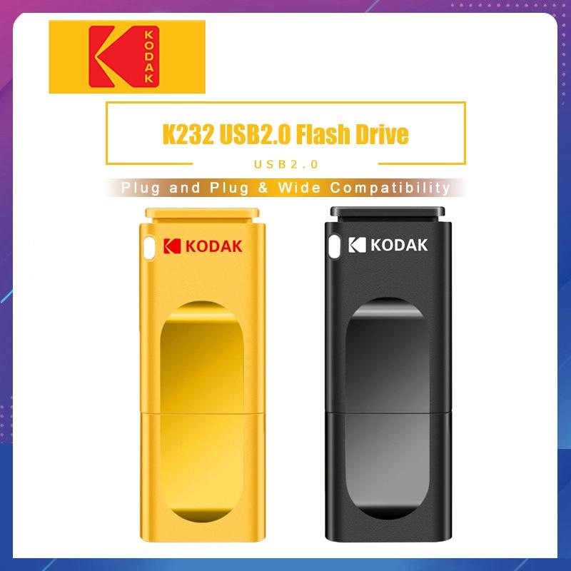 Kodak K232 Mini Metal USB Flash Drive 16GB 32GB 64GB Flash Memory Stick Pen Drive USB2.0 Pendrive Memoria Usb
