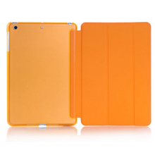 for iPad Mini Original  Simplism Series Wake Up Fold Stand Leather Cas