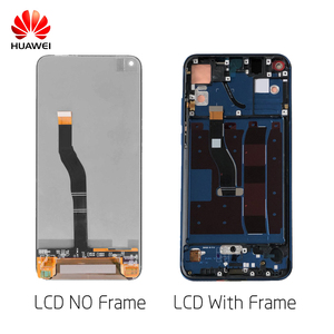 Image 2 - HUAWEI Display LCD Touch Screen con Cornice Originale Per Huawei Honor V20 Vista 20 PCT AL10 PCT L29 Lcd di Ricambio Display
