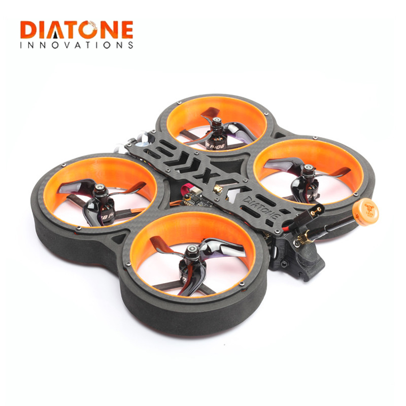 DIATONE MXC TAYCAN 349 3 Inch 158mm 4S/6S Cinewhoop FPV Racing Drone RC Quadcopter BNF w/ Frsky R-XSR RUNCAM 2 Camera