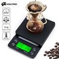 Электронные кухонные весы с таймером, 3 кг/5 кг х 0,1 г