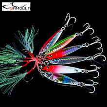 New Jig Fishing Lure Jigs Weights 7-30g Tackle Metal Jig Bass Fishing Bait Saltwater Lures Isca Artificial Articulos De Pesca fargiant hard lure metal jig fishing lure weights 8 20g jigs metal jig articulos de pesca isca artificial fakefishing jig lures