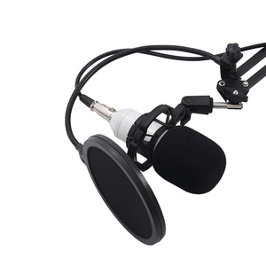 Image 3 - BM800 Condensator Microfoon Kit Studio Suspension Boom Scissor Arm Geluidskaart Wit