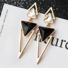 SexeMara OL Style Trendy Elegant Triangle Christmas Drop Earrings Flash Deals Famous Brand Luxury Jewelry Gift Factory Wholesale