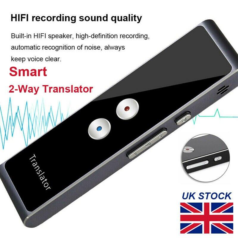Translaty MUAMA Enence utilitaire Portable traducteur intelligent instantané en temps réel voix 40 langues offre spéciale traducteur T8